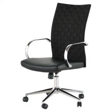 Mia Office Chair  Black