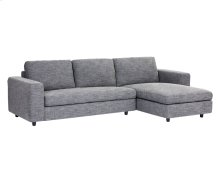 Ethan Sofa Chaise - Quarry