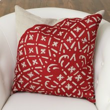 Crimson Punch Pillow