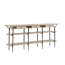 Villa Couture Asti Console Table In Glaze