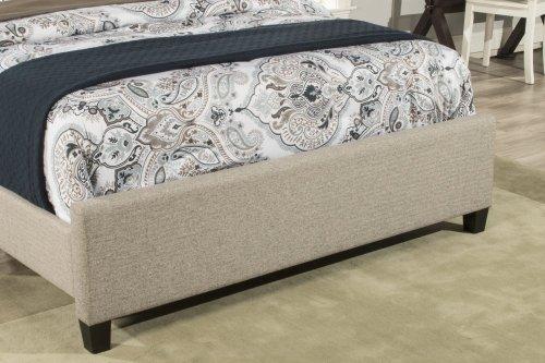 Churchill Cal King Bed - Natural Herringbone