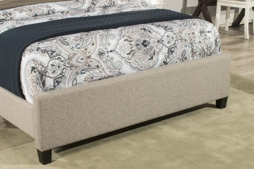 Churchill Cal King Bed - Natural Herringbone