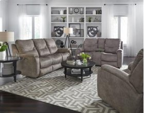 Console Sofa with Power Headrest