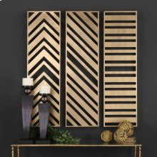 Zahara Metal Wall Panels, S/3