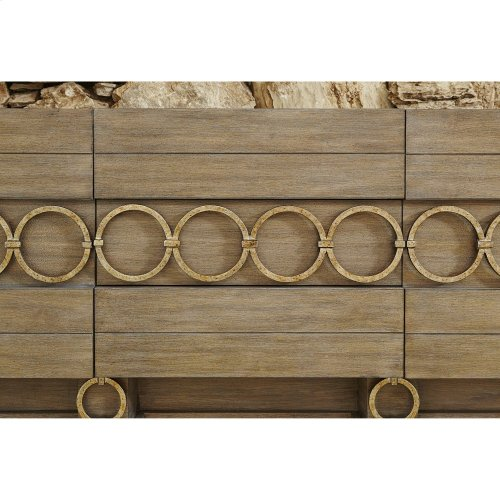 Ring Multi-Use Cabinet -Driftwood