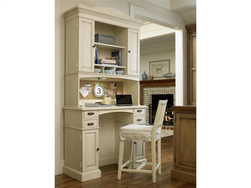 Floor Model Family Organizer Desk With Hutch River Boat