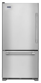 30-inch Bottom Freezer Refrigerator with Freezer Drawer Product Image