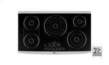 "LG STUDIO - 36"" Electric Cooktop SCRATCH and DENT SPECIAL CLEARANCE ONE ONLY # 678850"