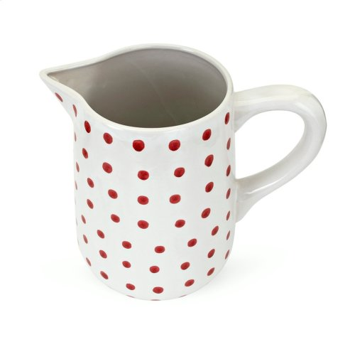 TY Berry Patch Hand-painted Large Pitcher