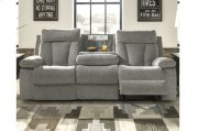 Reclining Sofa With Drop Down Table Product Image