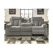 REC Sofa w/Drop Down Table