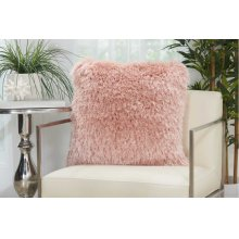 "Shag Tl004 Rose 20"" X 20"" Throw Pillows"