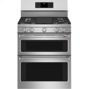 """30"""" Smart Free-Standing Gas Double-Oven Range with Convection"""