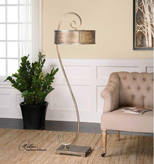 Dalou Scroll Floor Lamp
