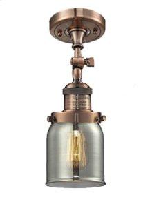 201F-AC-G2 - HALOPHANE GLASS SEMI-FLUSH