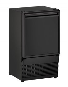"""Ada Series 14"""" Crescent Ice Maker With Black Solid Finish and Field Reversible Door Swing"""