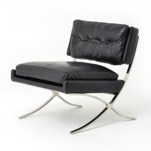 Old Saddle Black Cover Heathrow Lounge Chair