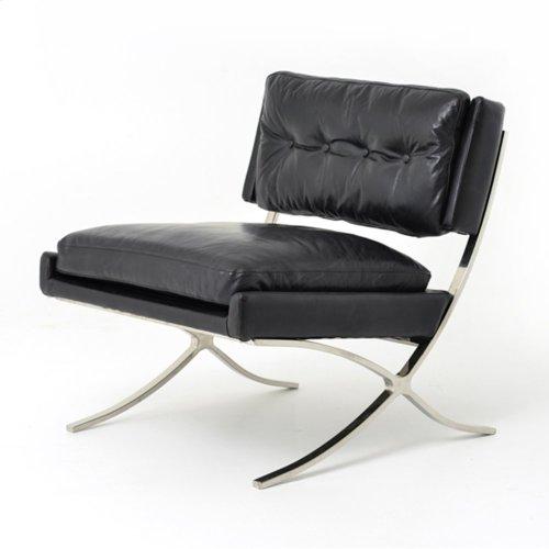 Heathrow Lounge Chair-rider Black