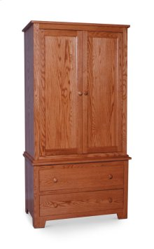 Shaker Armoire on Chest