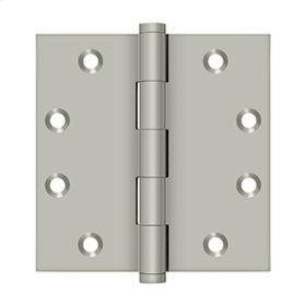 "4 1/2"" x 4 1/2"" Square Hinges - Brushed Nickel"