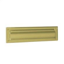 Door Accessories  Mail Slot - Bright Brass