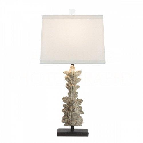 Hestal Fragment Carved Table Lamp