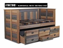 MCDB/MCTU  Twin Day Bed with Trundle