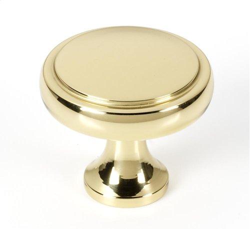 Royale Knob A980-14 - Polished Brass