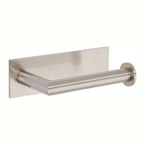Satin Nickel Open Toilet Tissue Holder - Right