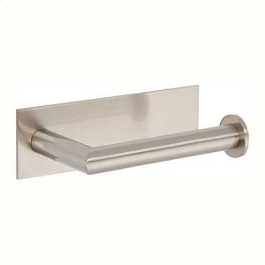 Satin Nickel Open Toilet Tissue Holder - Right