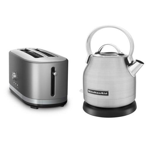 Exclusive Breakfast Bundle (Toaster + Kettle) - Stainless Steel