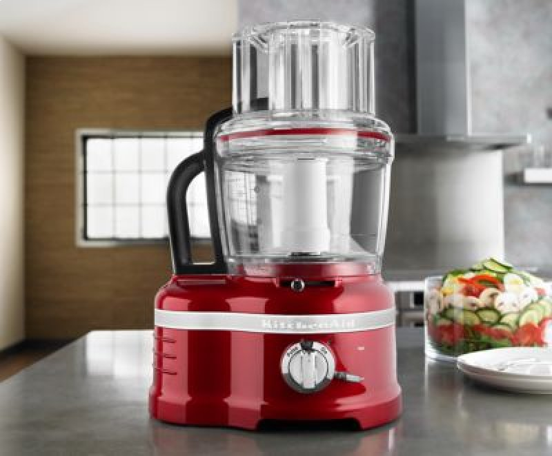 Pro Line Series 16 Cup Food Processor With Die Cast Metal Base And Commercial