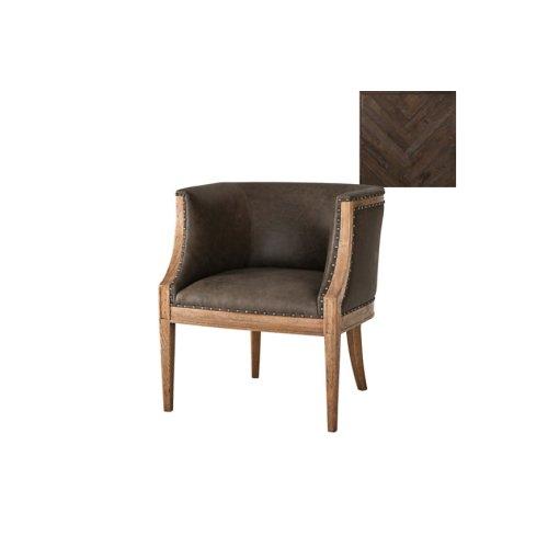 Orlando Accent Chair, Dark Echo Oak