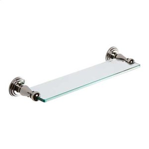 "Polished Nickel 18"" Shelf"