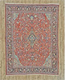 "MAHAL 000047810 IN RED NAVY 9'-2"" x 12'-0"""