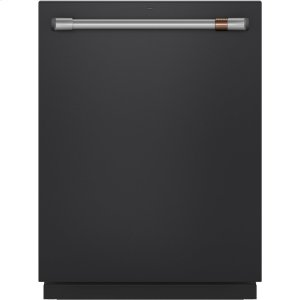 Caf(eback) Stainless Interior Built-In Dishwasher with Hidden Controls - MATTE BLACK