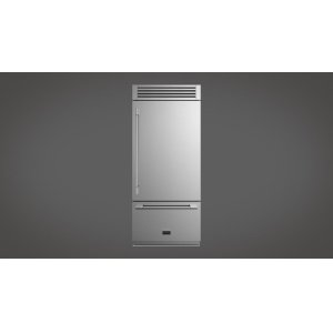 "Fulgor Milano36"" Sofia Pro Fridge - Right Door - stainless Steel"