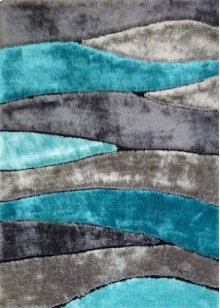 120 Gray Blue Rug