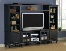Grand Bay Large Entertainment Center Black