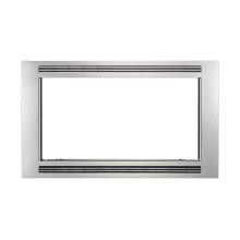 Black/Stainless 30'' Microwave Trim Kit