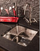 Stainless Bar Sink Polished Stainless Steel Product Image