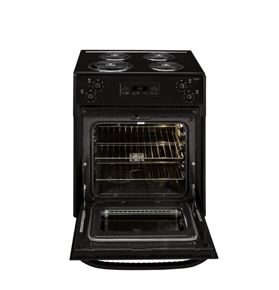 Jm250dfbb Ge 174 27 Quot Drop In Electric Range Black Fred S