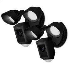 2-Pack Floodlight Cams - Black
