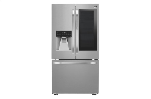 LG STUDIO - 24 cu. ft. InstaView Door-in-Door® Counter-Depth Refrigerator
