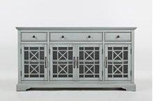 """Craftsman Earl Grey 60"""" TV Console"""