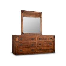 Saratoga 6 Drawer Long Dresser