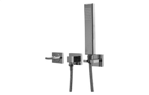 Sade/Targa/Luna Wall-Mounted Handshower & Diverter