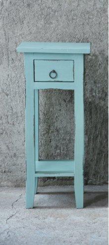 CC-TAB1792LD-BB  Cottage Accent Table  Beach Blue