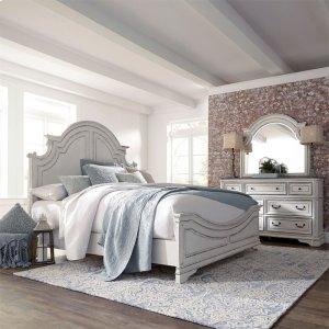 Liberty Furniture Industries Queen Panel Bed, Dresser & Mirror
