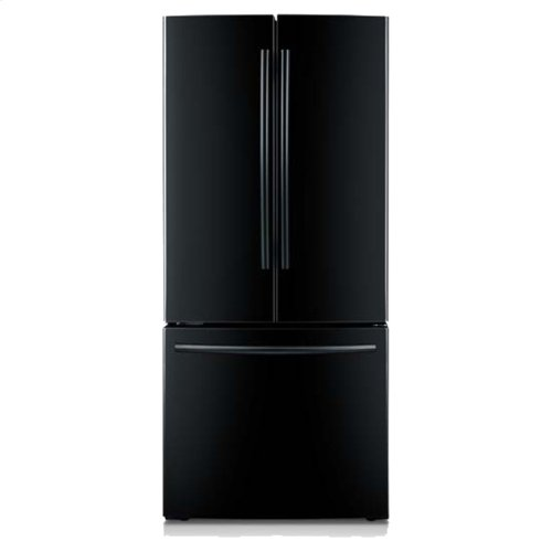 21.6 cu. ft. 30-Inch French Door Refrigerator (Black)